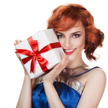 Новогодний сюрприз жене