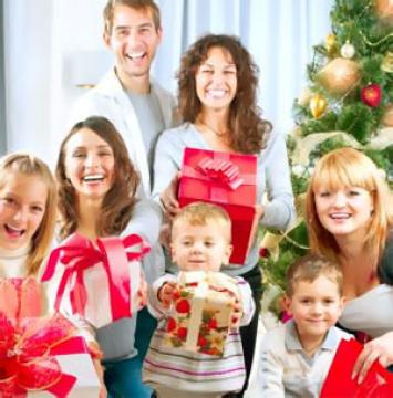 Семейные подарки на новый год