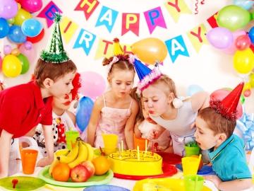 летний детский день рождения