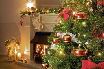 символ нового года елка