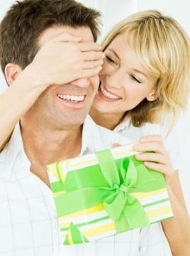 веселый подарок мужу